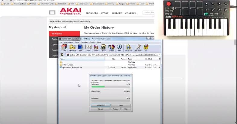 mpk mini editor installation