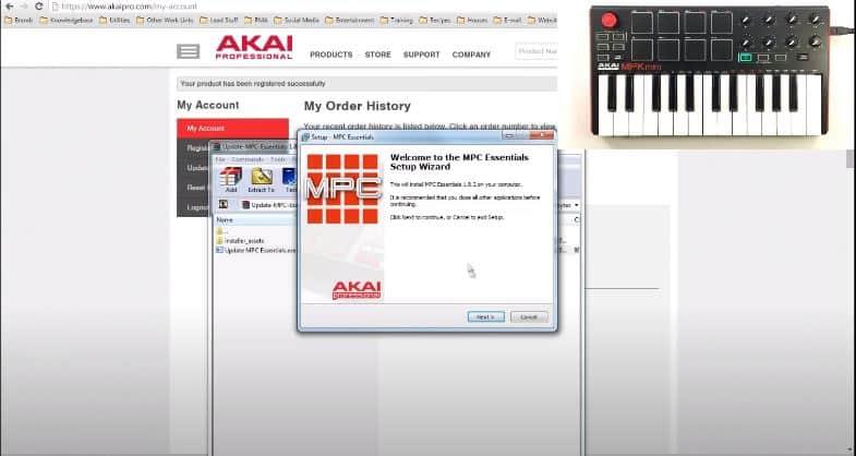 akai mpk mini editor install