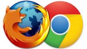 Mozilla dan Chrome